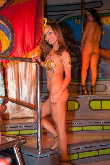 Dancer from Club Atlantis