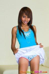 Panty in blue