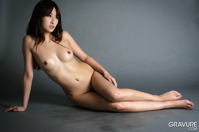 Japanese uncensored nude model