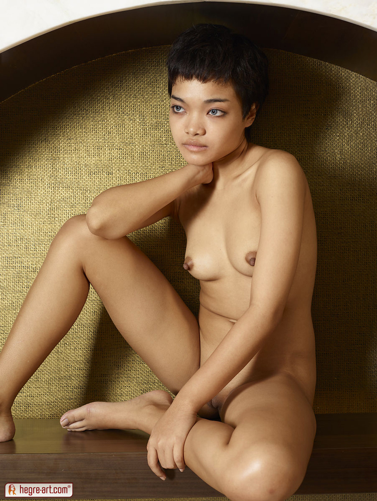 Short haired women nude-6909