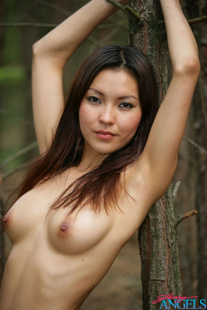 Agnes Outdoor Forrest Nudes