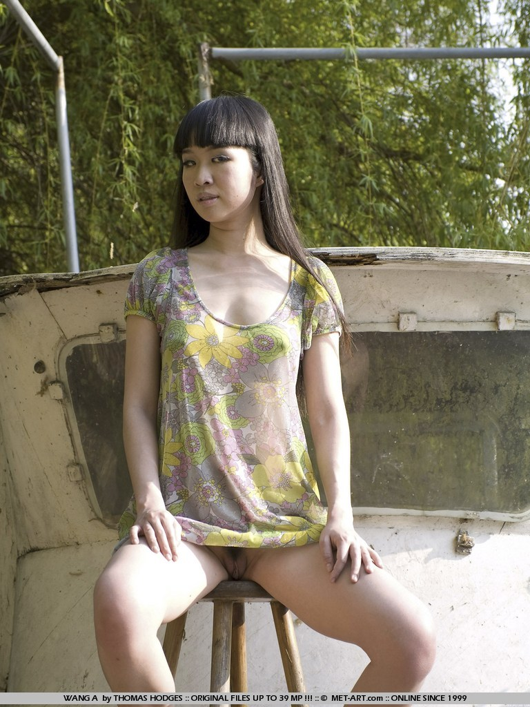 Chinese Outdoor Nudes By The River-7982