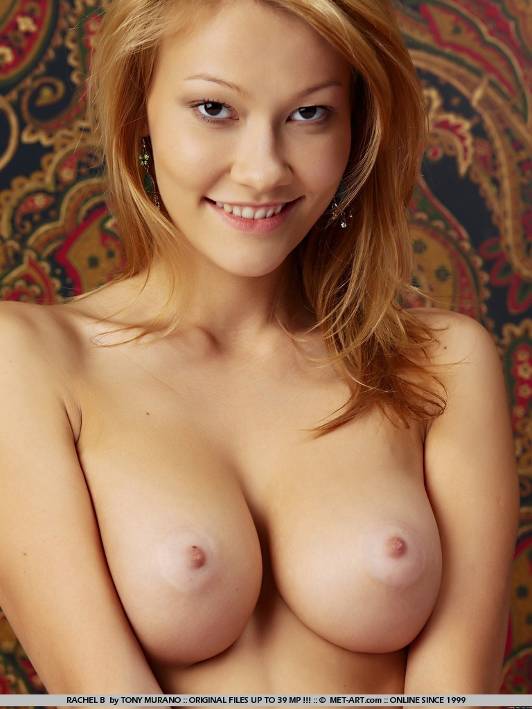 Nudes of a blonde Russian-Asian Bombshell