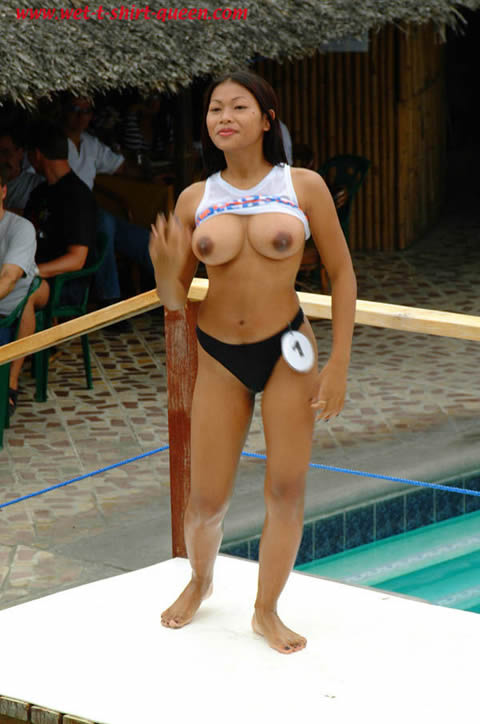 filipina-naked-on-the-pool