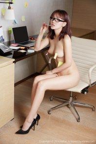nude receptionist