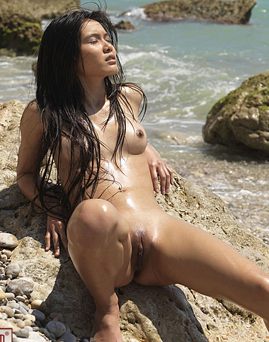 Asian joy beauty naked pacific