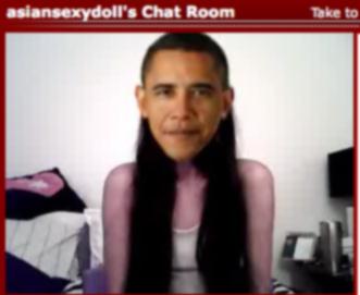 Obama on Sexydoll