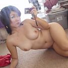 Los Angeles Amateur Japanese girl captures her body on digital camera