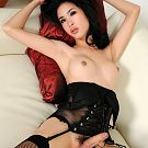 Extremely beautiful ladyboy from Pattaya 6th Soi with big lips and strong member