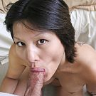 Tomboy Merry Whitney with frisky attitude definitely knows how to have oral fun