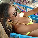 Big tit Thai babe met on beach and brought back to hotel room for boom boom